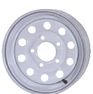 White Modular Trailer Wheels