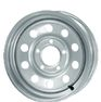 Silver Modular Trailer Wheels