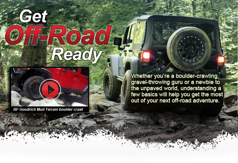 Get Off-Road Ready