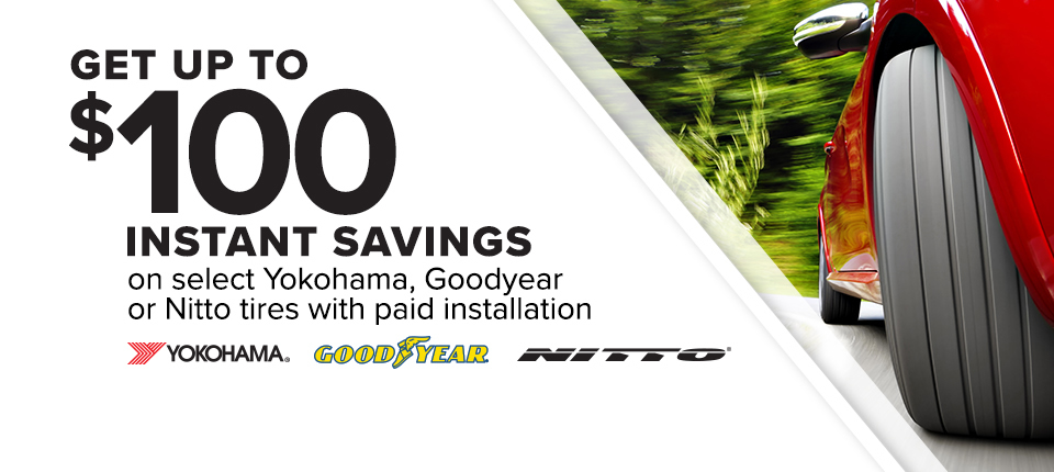 2017 - March - Nitto, Goodyear, Yoko Promo